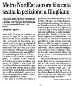 Il Mattino Cristina Liguori 4 7 2013