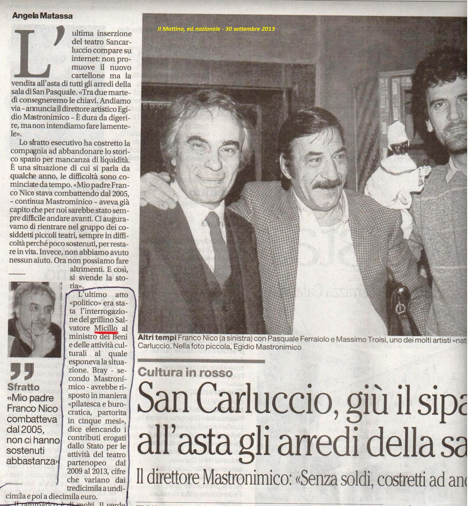 Sancarluccio 30 9 2013
