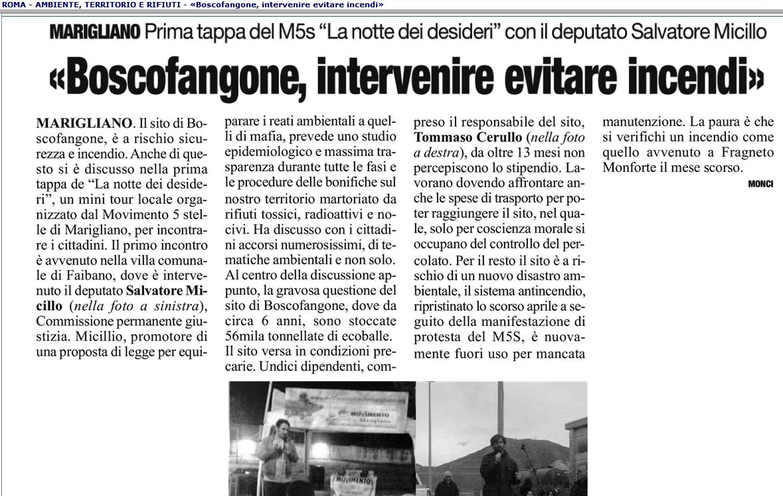 micillo boscofangone Roma 11 11 2013