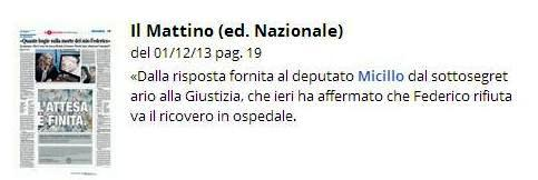 Micillo il Mattino Perna 1 12 2013