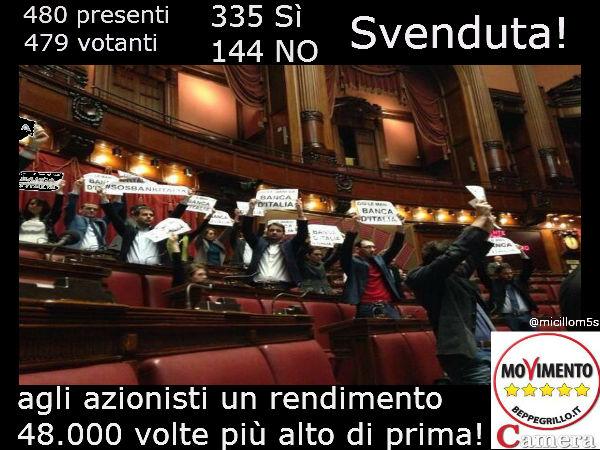 Banca d'Italia svenduta anna villani