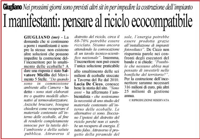 Cronache di Napoli 23 12 2014
